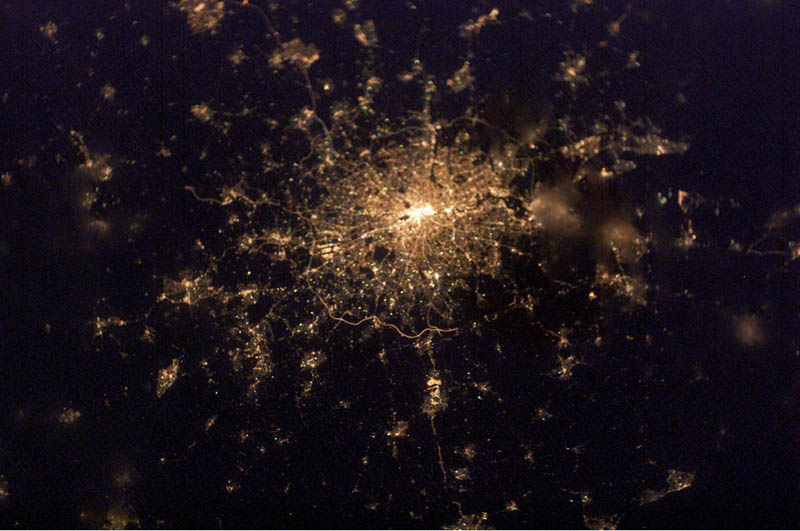 london at night from space nasa Earth at Night: 30 Photos from Space