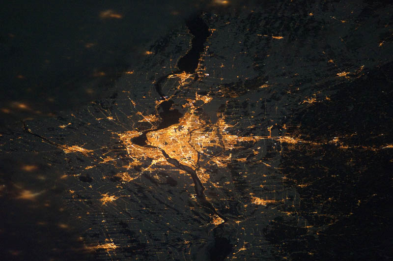 montreal at night from space nasa Earth at Night: 30 Photos from Space