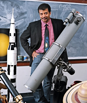 neil degrasse tyson with telescope rocket 50 Awesome Quotes by Neil deGrasse Tyson