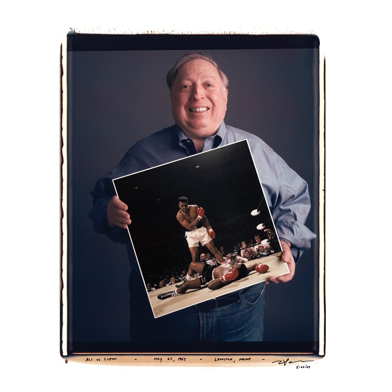 neil leifer ali liston picture Four Iconic Photos Turned Into Selfies