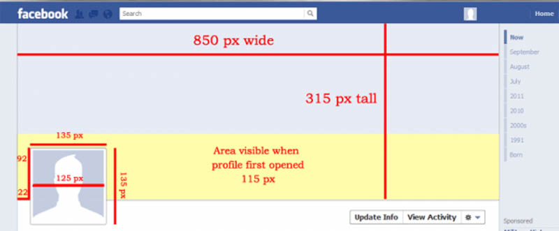 specs dimensions for facebook timeline cover 25 Funny and Creative Facebook Timeline Covers