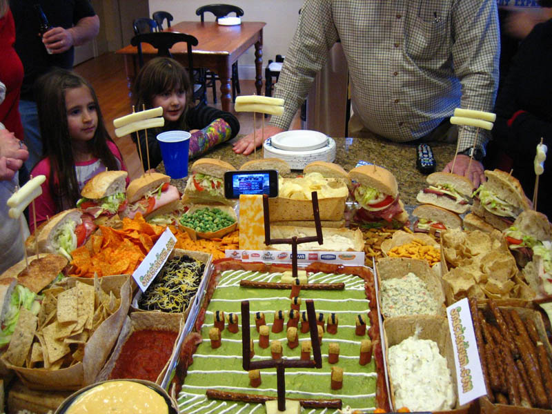 superbowl snack stadiums 12 The Best Super Bowl Snack Stadiums Ever