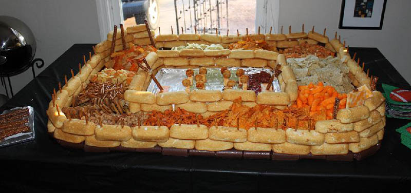 superbowl snack stadiums 14 The Best Super Bowl Snack Stadiums Ever
