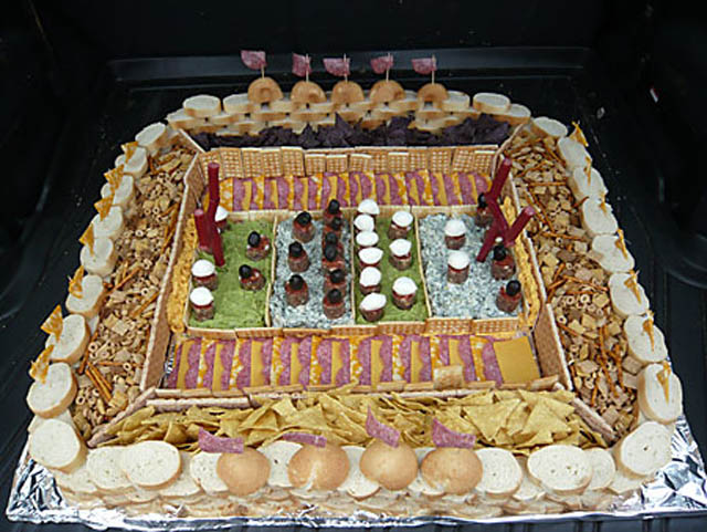 superbowl snack stadiums 22 The Best Super Bowl Snack Stadiums Ever