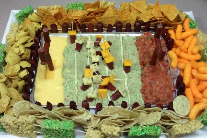 superbowl snack stadiums 26 The Best Super Bowl Snack Stadiums Ever