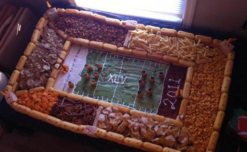 superbowl snack stadiums 29 The Best Super Bowl Snack Stadiums Ever
