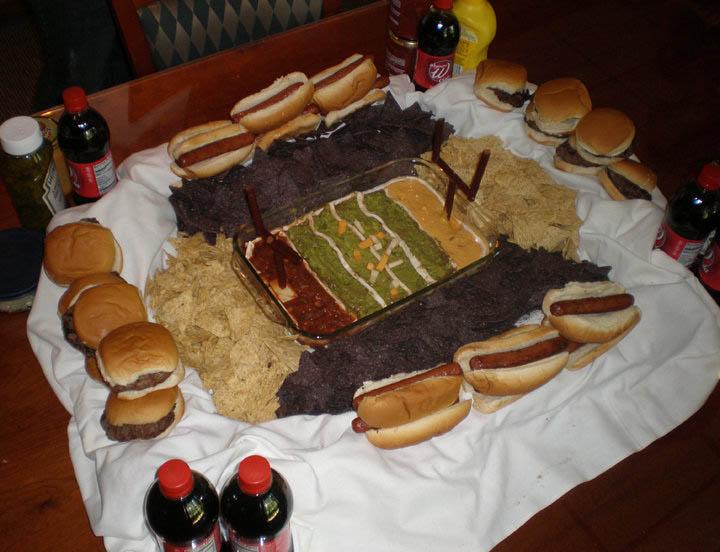 superbowl snack stadiums 30 The Best Super Bowl Snack Stadiums Ever