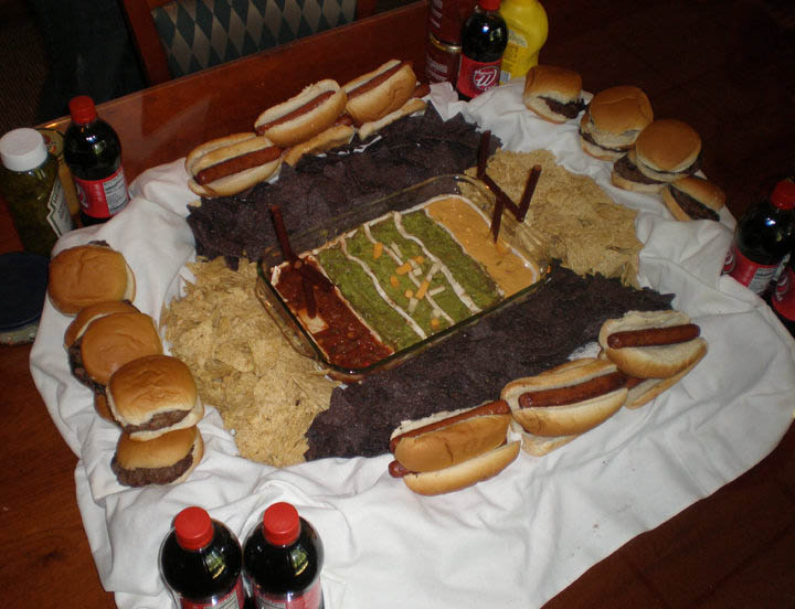 superbowl snack stadiums 30 The Best Super Bowl Snack Stadiums Ever