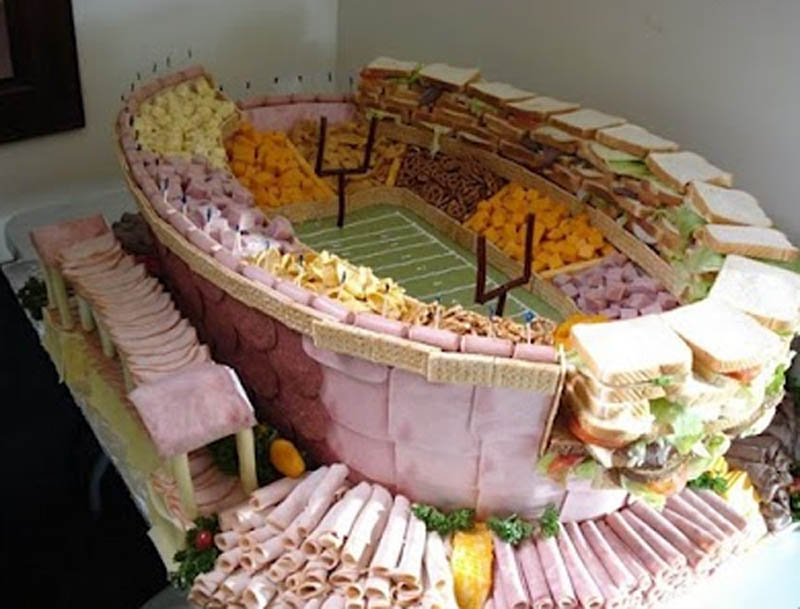 superbowl snack stadiums 32 The Best Super Bowl Snack Stadiums Ever