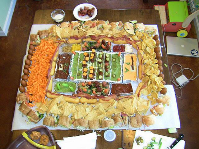 superbowl snack stadiums 4 The Best Super Bowl Snack Stadiums Ever
