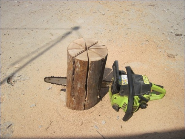 swedish fire torch make a stove from a single log 12 How To Make a Stove from a Single Log