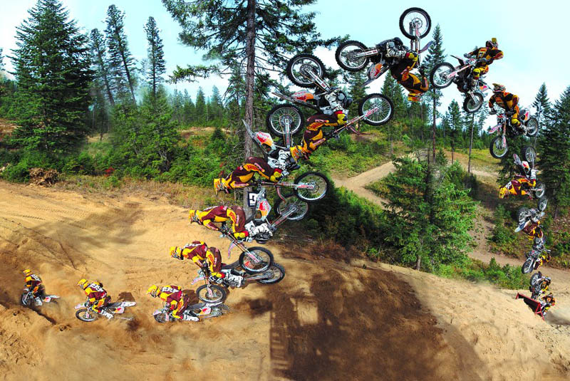 travis pastrana double backflip sequence photograph Picture of the Day: Travis Pastrana Does a Double Backflip