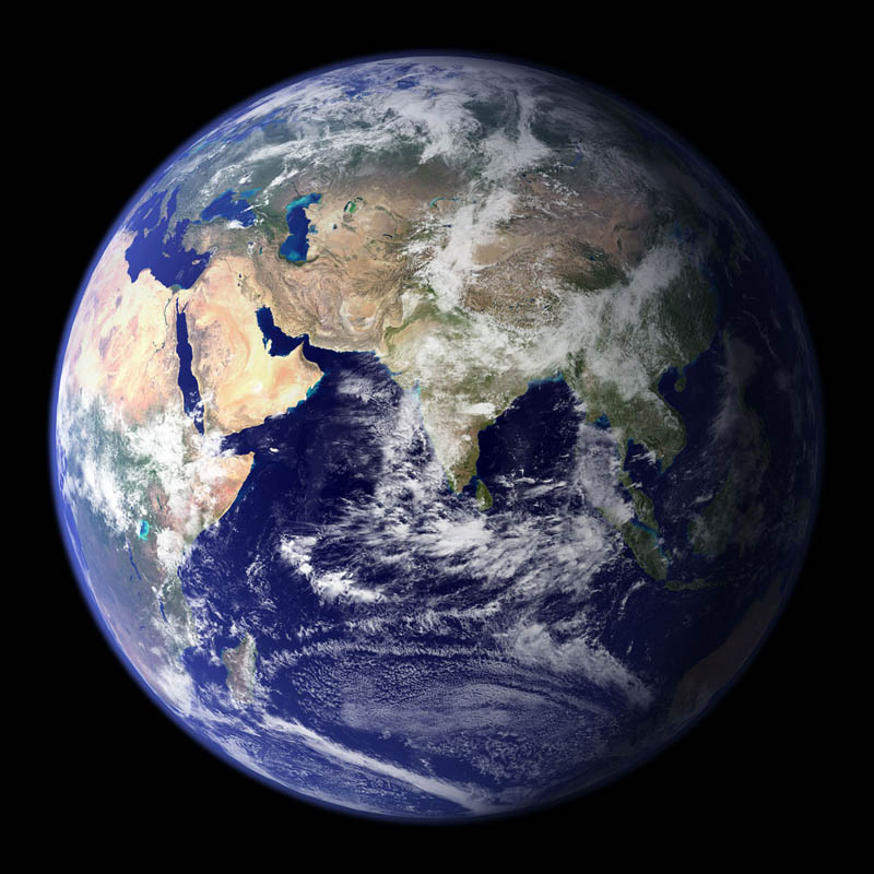 view of planet earth europe asia from space Picture of the Day: The Precious Blue Marble
