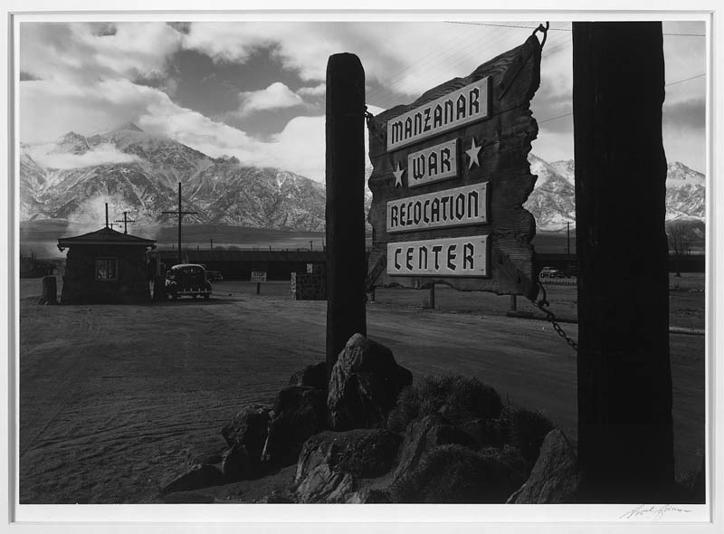 Ansel Adams Captures Life on a Japanese Internment Camp