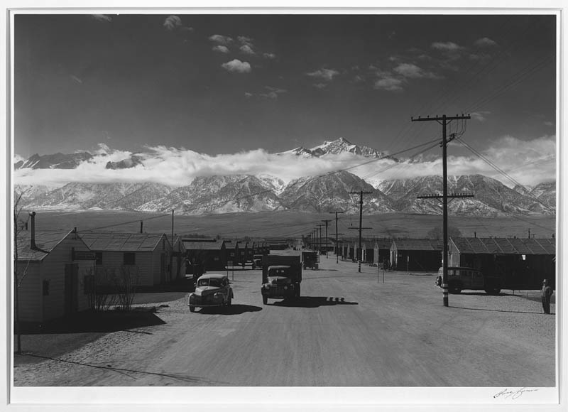 ansel adams life on japanese internment camps wwii manzanar 2 Ansel Adams Captures Life on a Japanese Internment Camp