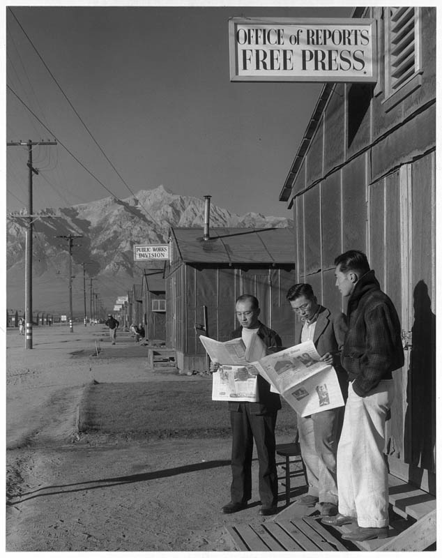 ansel adams life on japanese internment camps wwii manzanar 24 Ansel Adams Captures Life on a Japanese Internment Camp