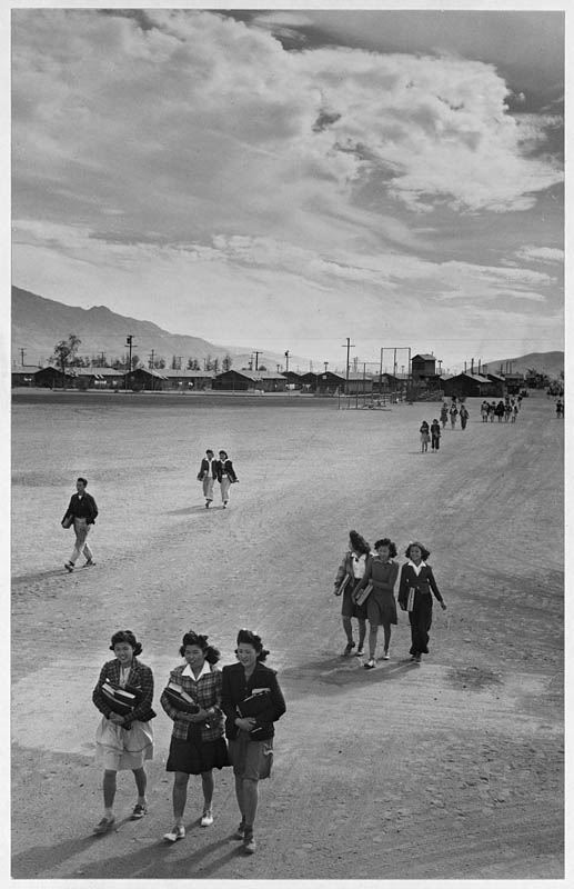 ansel adams life on japanese internment camps wwii manzanar 35 Ansel Adams Captures Life on a Japanese Internment Camp