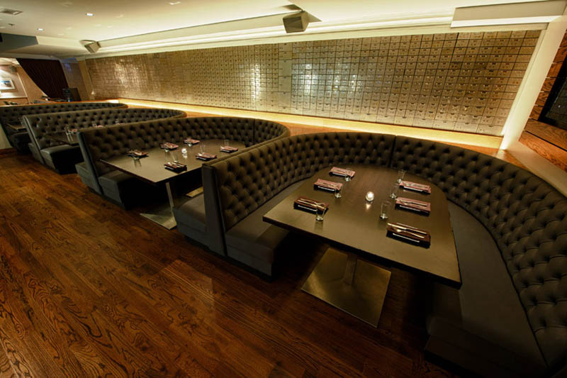 chicago supper club restaurant reclaims bank with vault the bedford 13 Chicago Supper Club Reclaims 1920s Bank with VIP Vault Room