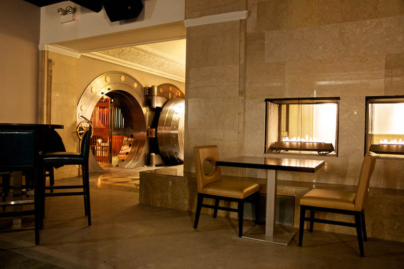 chicago supper club restaurant reclaims bank with vault the bedford 17 Chicago Supper Club Reclaims 1920s Bank with VIP Vault Room