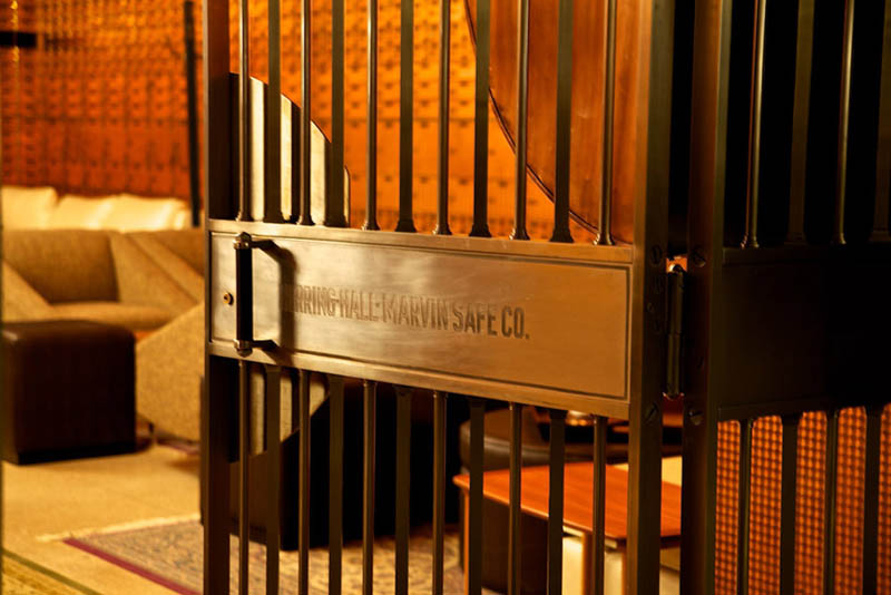 chicago supper club restaurant reclaims bank with vault the bedford 20 Chicago Supper Club Reclaims 1920s Bank with VIP Vault Room