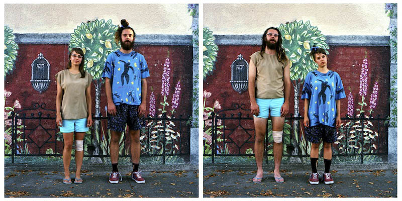Couples Swap Clothes for Fun Photo Series «TwistedSifter
