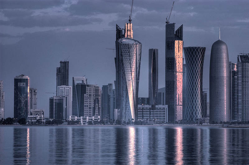 The Eclectic Architecture of Doha, Qatar [25 pics]