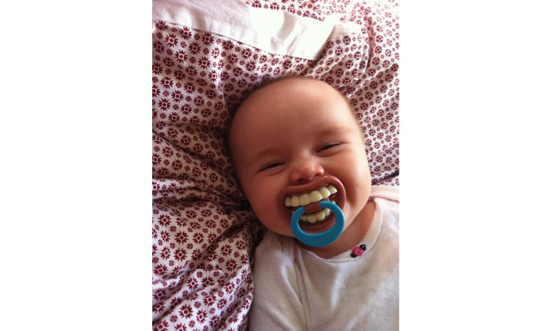 funny baby pacifier big teeth 20 Ridiculous Baby Pacifiers