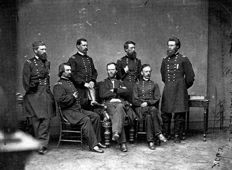 general francis p blair added to general sherman photograph 1 12 Historic Photographs That Were Manipulated