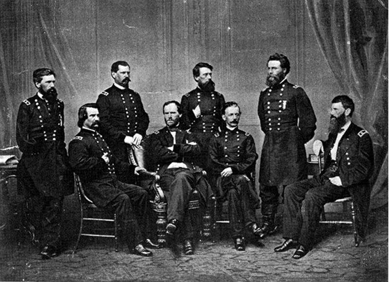 general francis p blair added to general sherman photograph 2 12 Historic Photographs That Were Manipulated