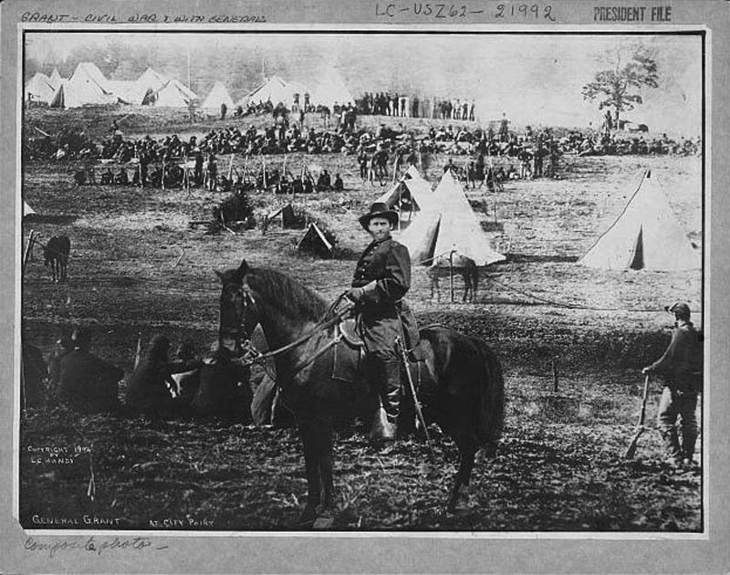 general ulsses s grant on horst doctored photosopped 2 12 Historic Photographs That Were Manipulated