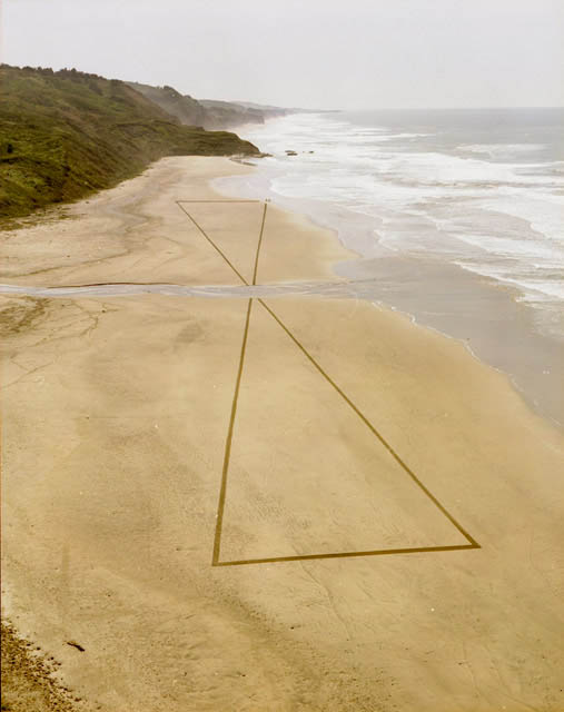 jim denevan giant beach sand art 2 The Colossal Land Art of Jim Denevan [30 pics]