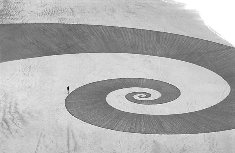 jim denevan giant beach sand art 4 The Colossal Land Art of Jim Denevan [30 pics]