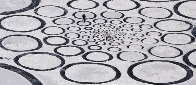 jim denevan giant ice art circles siberia 4 The Colossal Land Art of Jim Denevan [30 pics]