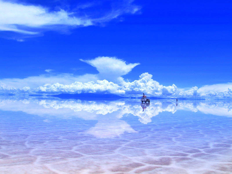 salar de uyuni after some rain bolivia salt flats The Top 100 Pictures of the Day for 2012