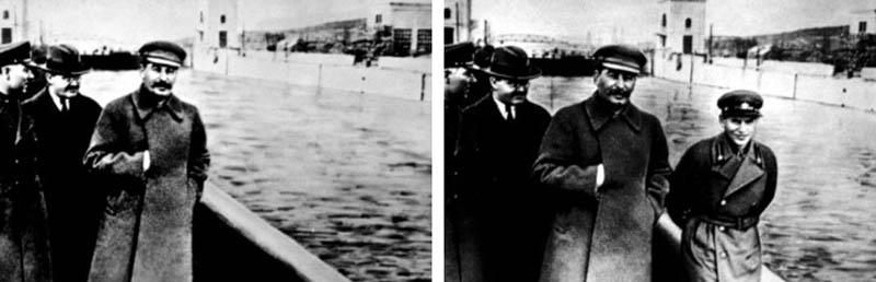 """Résultat de recherche d'images pour """"stalin photos doctored"""""""