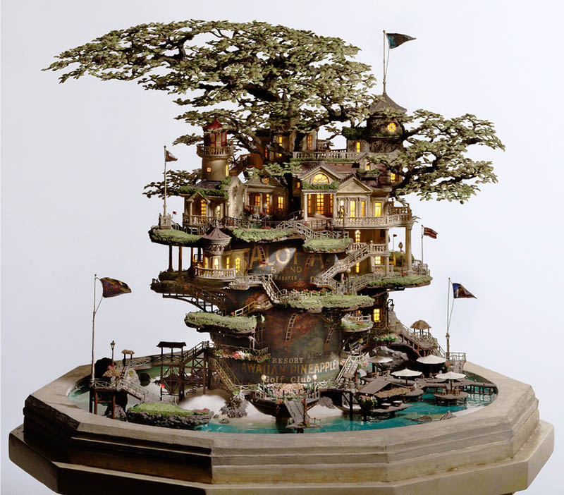 Amazing miniature sculptures by takanori aiba «twistedsifter