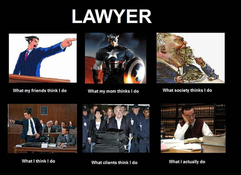 what my friends think i do what i actually do lawyer Top 10 What My Friends Think I Do vs What I Actually Do Posters
