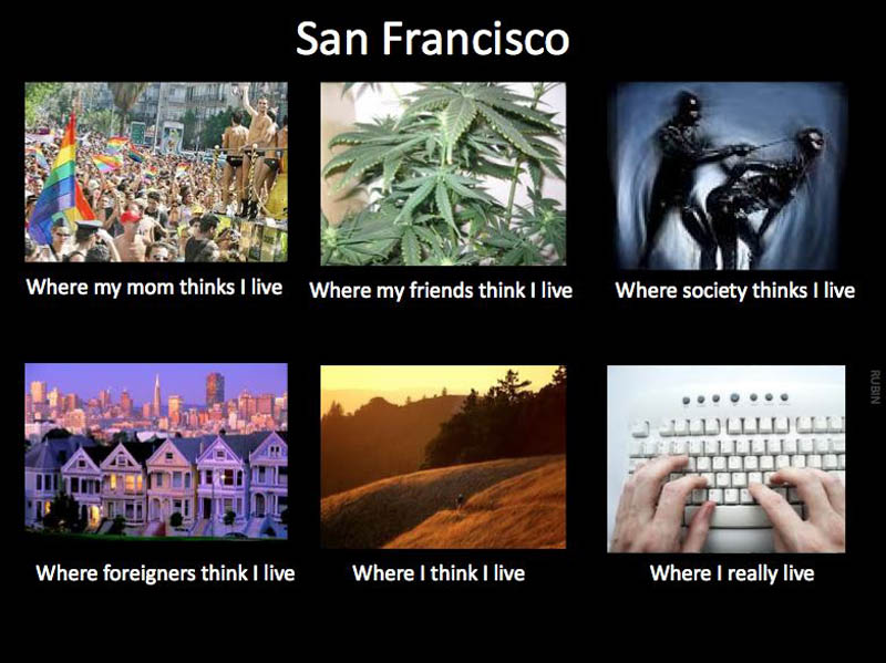 what my friends think i do what i actually do san francisco Top 10 What My Friends Think I Do vs What I Actually Do Posters