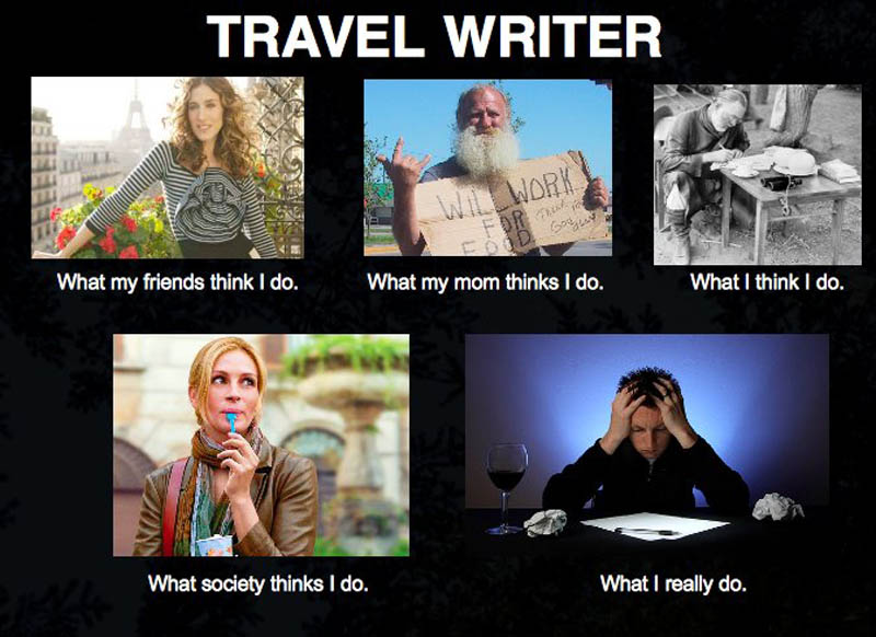 what my friends think i do what i actually do travel writer Top 10 What My Friends Think I Do vs What I Actually Do Posters