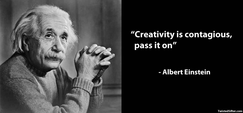 Image of: Creativity 15 Famous Quotes On Creativity Keepinspiringme 10 Famous Quotes About Art twistedsifter