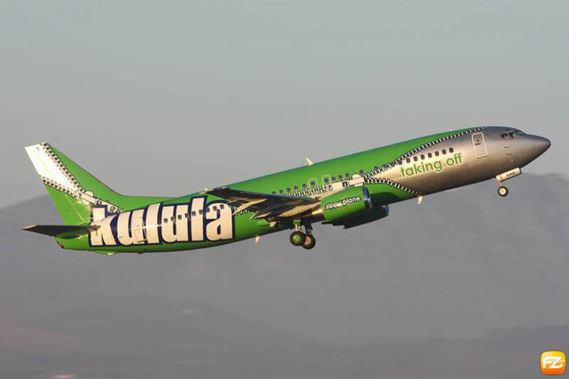 amazing airplane paint job kulula This Airline has the Best Fleet of Planes Ever!