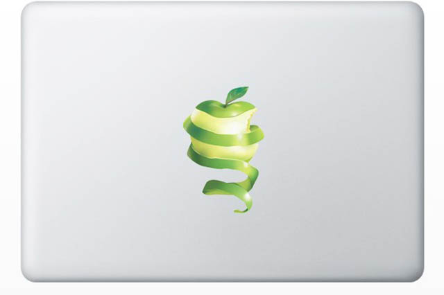 apple macbook decal sticker 50 Creative MacBook Decals and Stickers