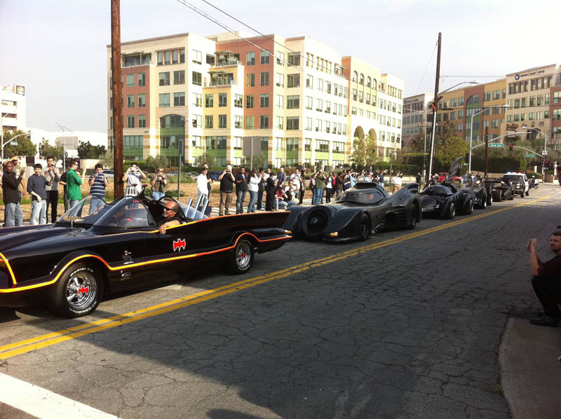 batmobile lineup Picture of the Day: A Batmobile Bonanza!