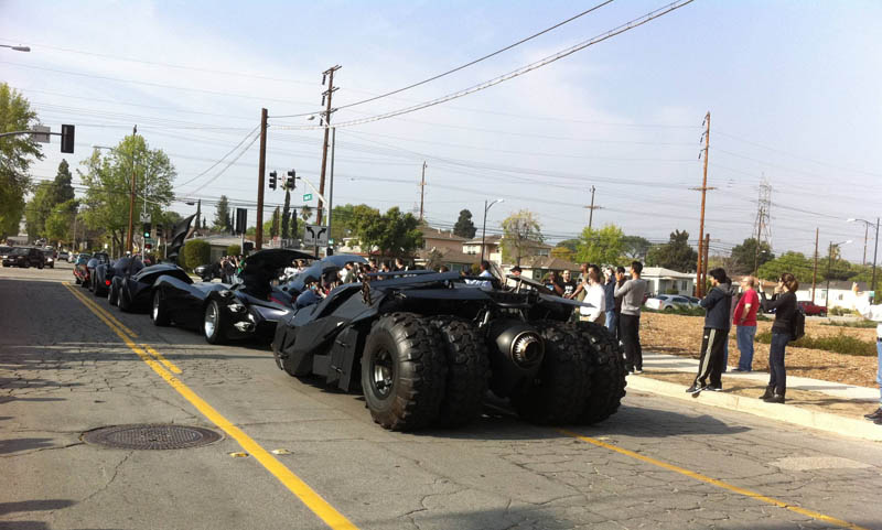 batmobiles rear shot Picture of the Day: A Batmobile Bonanza!