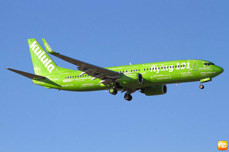flying 101 plane kulula 1 This Airline has the Best Fleet of Planes Ever!