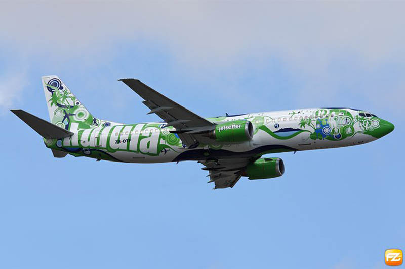 funny airline fleet paint job green kulula 7 This Airline has the Best Fleet of Planes Ever!