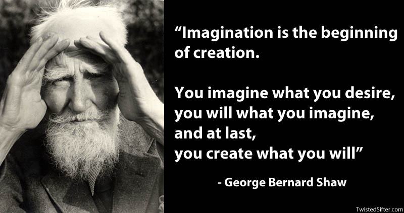 george bernard show famous quote on creativity 15 Famous Quotes on Creativity