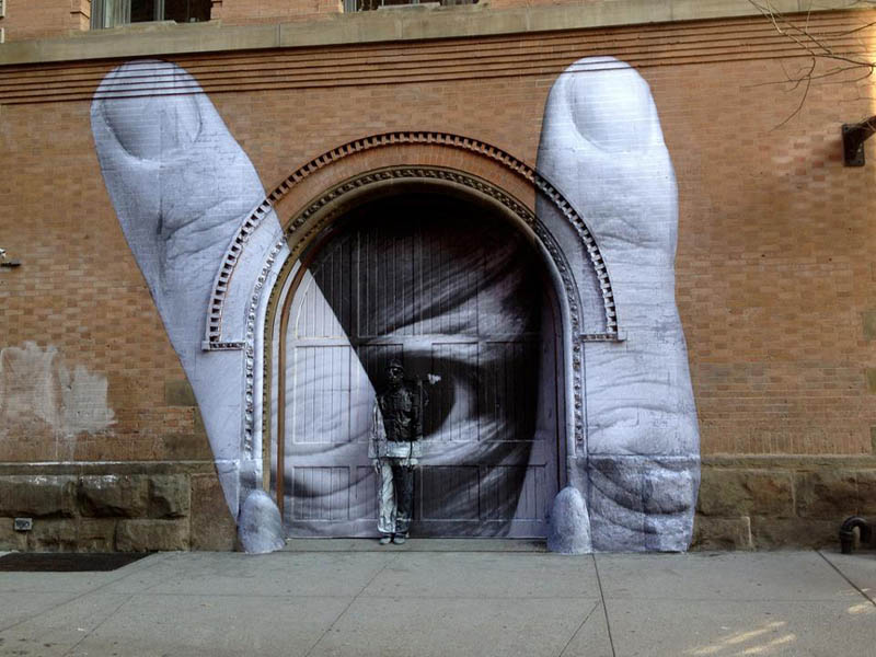 Picture of the Day: JR & Liu Bolin Street Art Collabo inNYC
