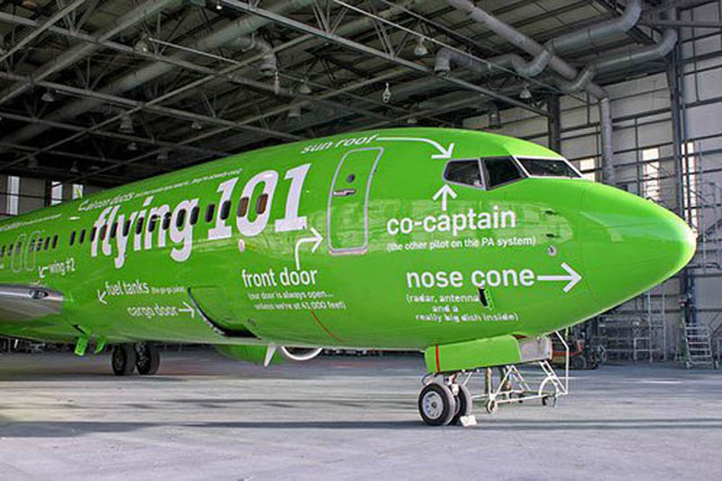 kulula flying 101 plane decals funny design 3 This Airline has the Best Fleet of Planes Ever!