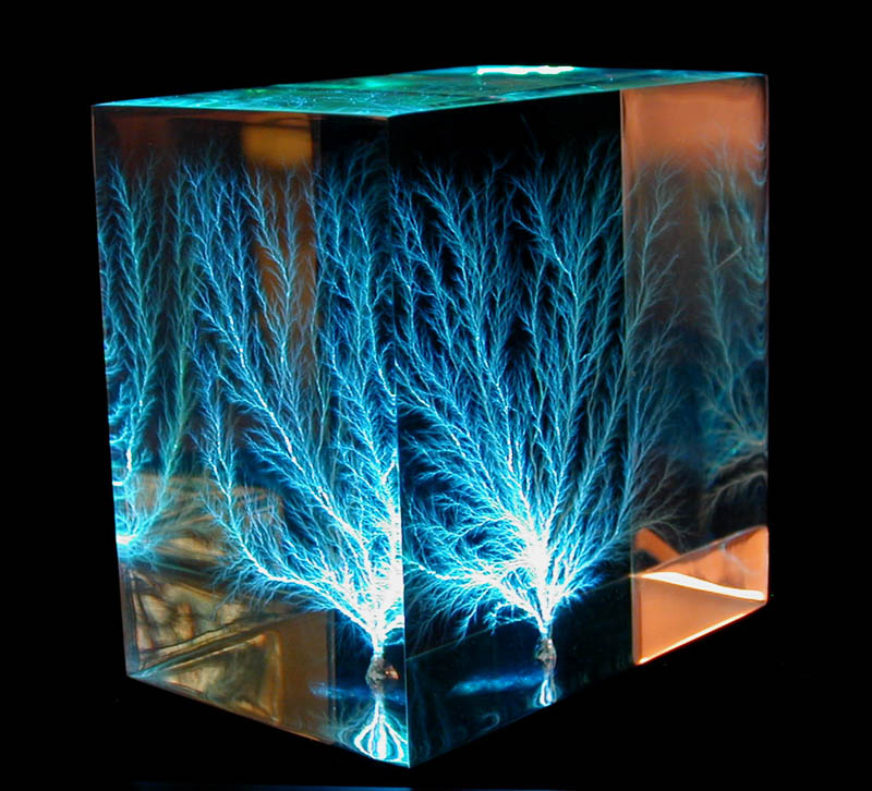 lichtenberg figure Lichtenberg Figures: The Fractal Patterns of Lightning Strike Scars